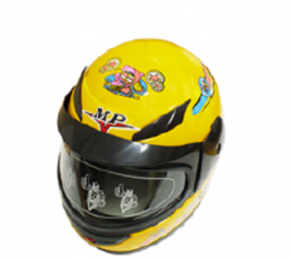 Casco Infatil Amarillo