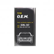 Aceite Mannol VW/SKODA/AUD 5W30 GAL..MET