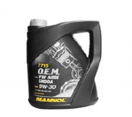 Aceite Mannol VW/SKODA/AUD 5W30 GAL. 5L.
