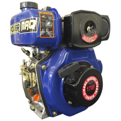 Motor Diesel 4 HP Powermaq