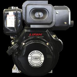 Motor Diesel Lifan C-186FD de 7HP