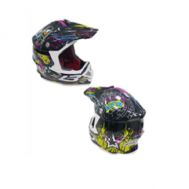 Casco cross BLD-819-S negro (DOT)