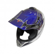 Casco cross star MP-818 Azul