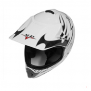 Casco Cross Star MP-818 BLANCO