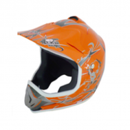 Casco Cross STAR MP-818 Naranja