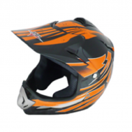 Casco Cross Star MP-818 Negro/Naranja