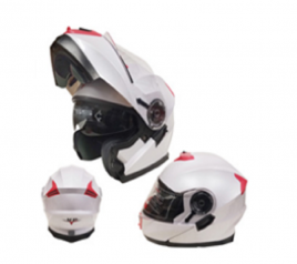 Casco Sport MP-160 Blanco/Rosado
