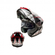 Casco Sport MP-160 GRIS/ROJO