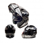 Casco Sport MP-160 Negro/Gris (DOT)
