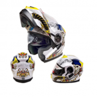 Casco Sport MP-160 Blanco/Amar. (DOT)