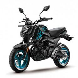 Motocicleta CFMOTO PAPIO ST 125 NEGRA